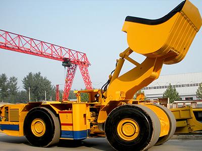 WJ-6柴油铲运机