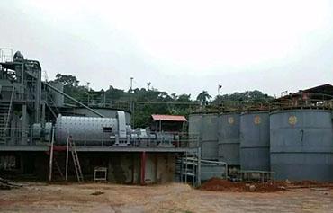 赞比亚某项目-500tpd金矿EPC