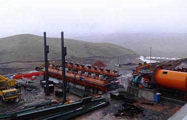新疆阿勒泰某项目-1000tpd铜矿EPC