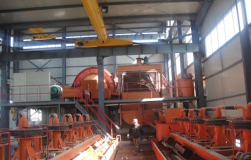 石墨矿选矿工艺流程